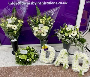 Funeral package as above.£500.