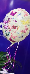 Single 14' helium balloon any event. £6.50.