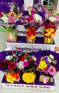 Display  Bouquets from £10.